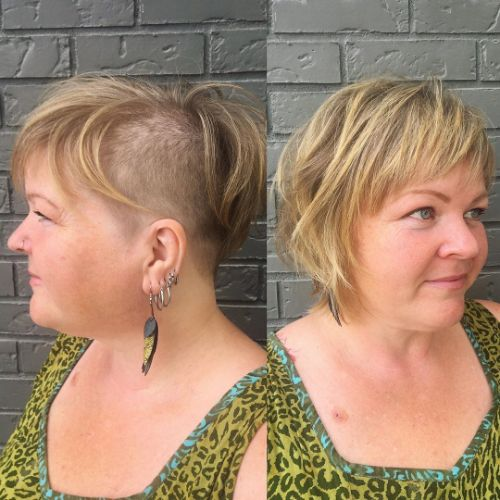 40 Short Hairstyles For Round Faces And Double Chins Babydoll Couture Glam