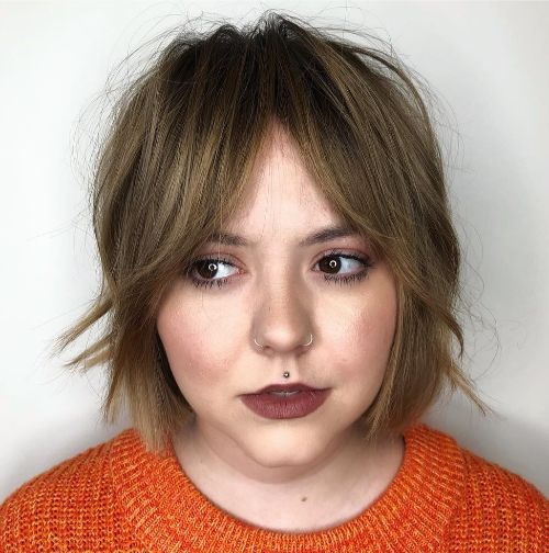 40 Right Bob Haircuts For Round Faces Babydoll Couture Glam