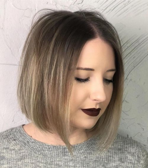 Sleek A-Line Bob for Fine Hair