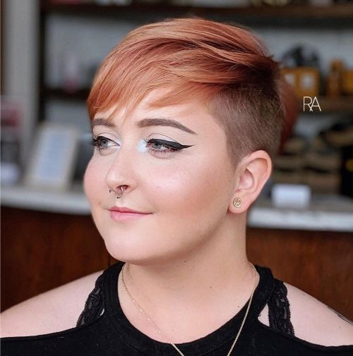Round chubby pixie face for cut 21 Flattering